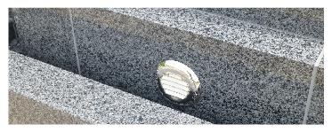 墓石の湿気対策の換気口