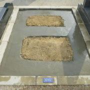 強固な基礎工事墓石